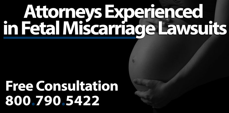 Loss of Pregnancy - Car Accident Fetal Miscarriage Lawsuits