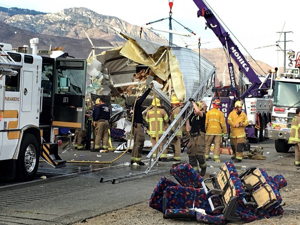 Palm Springs Tour Bus Accident - Attorney Representation
