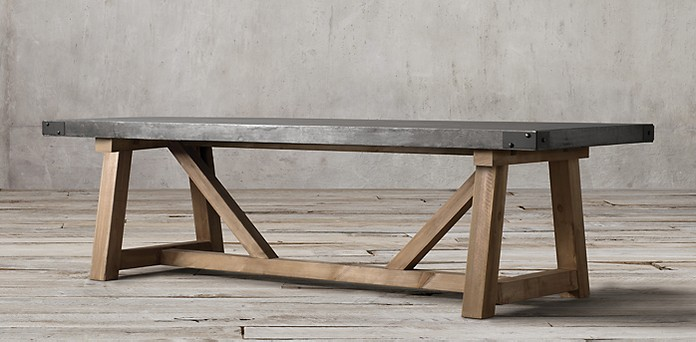 Restoration Hardware Table Recall