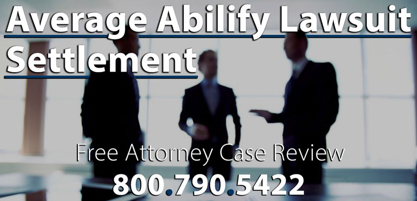 Average Case Value and Settlement Amounts for Abilify Lawsuit