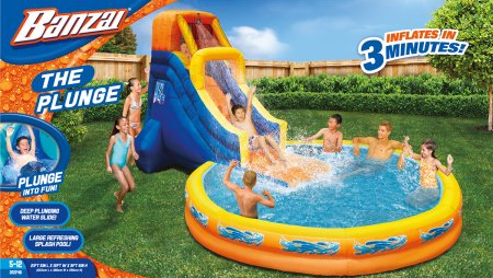 Defective Banzai Inflatable Pool Slide Lawsuit Los Angeles