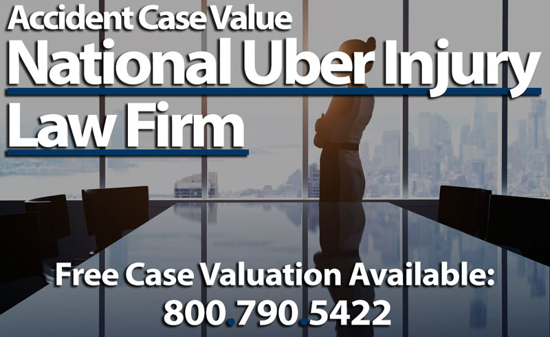 Average Case Value Settlement of Uber Insurance Crash Claim