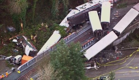 Amtrak Train Derails in Washington Leading to Death and