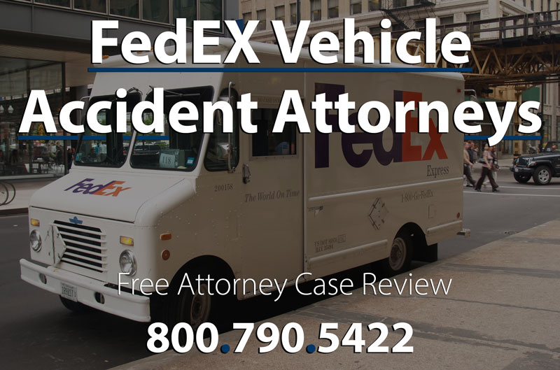 attorney to file fedex vehicle accident lawsuit for injuries
