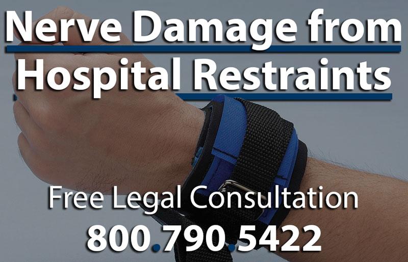 Hospital Restraints Nerve Damage Lawyer to File Lawsuit