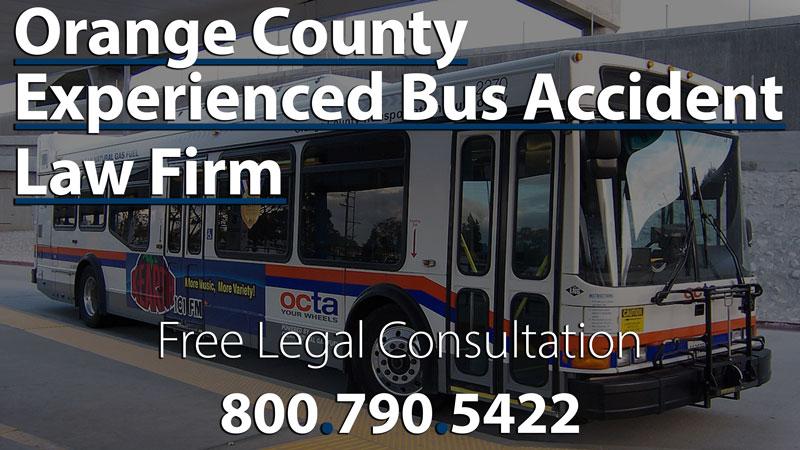 Bus Accident Lawyer Orange   OCTA Passenger Injury Lawsuit