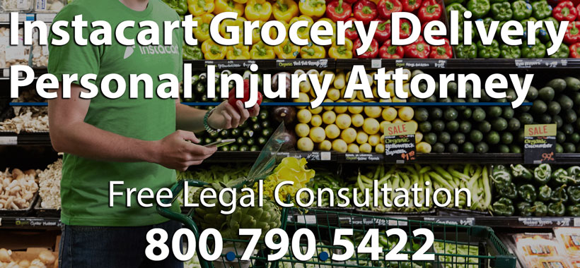 Instacart Grocery Delivery Injury Lawyer