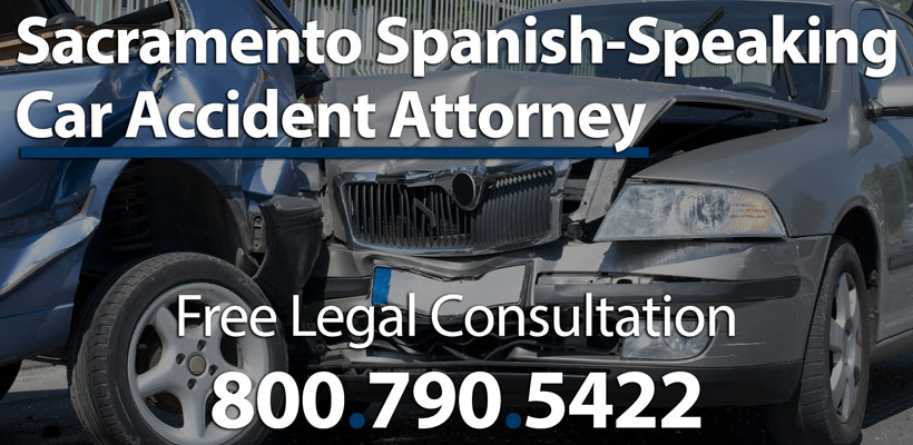 Sacramento Spanish-Speaking Automobile Accident Lawyer