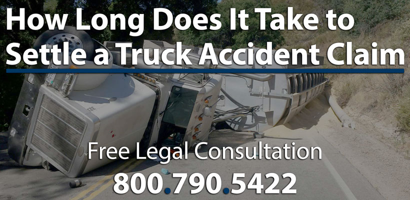 Time It Takes to Settle a Truck Accident Claim With Swett