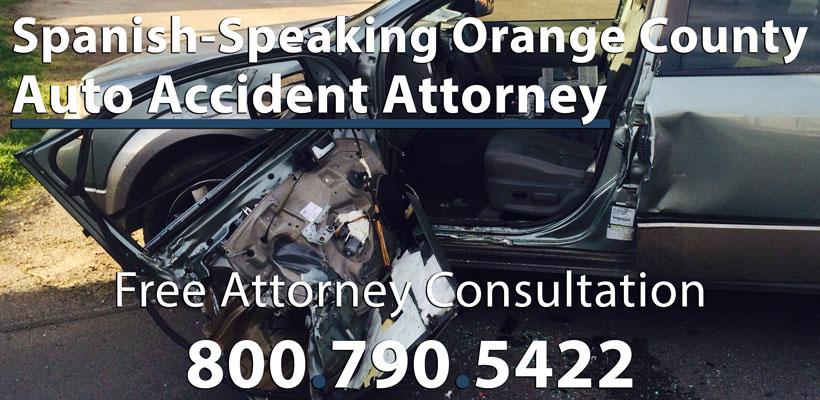 Spanish-Speaking Car Accident Attorney in Orange County, CA