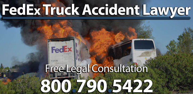 FedEx Truck Accident Lawyer | Average Settlement Value